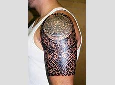 Tatuaje Calendario Maya Hombro Calendarios Hd