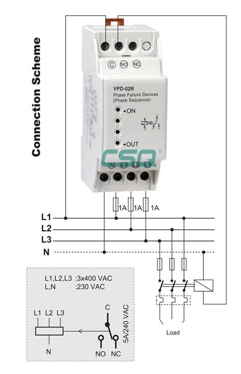new product vpd 02r phase failure relay switch view relay switch csq product details from siqi