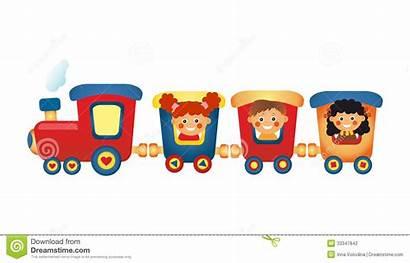 Train Clipart Ride Children Riding Background Clipground