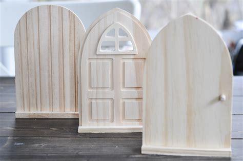 Diy Fairy Doors For The Backyard Darice