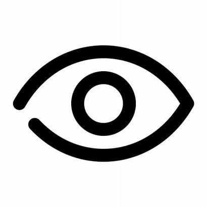 Icon Eye Icons Seen Password Restock Transparent