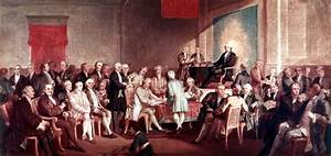 Signing of the Constitution by Thomas P. Rossiter ...