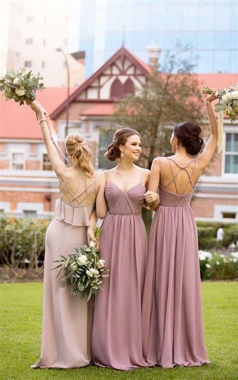 boho chiffon bridesmaid dress sorella vita bridesmaid gowns
