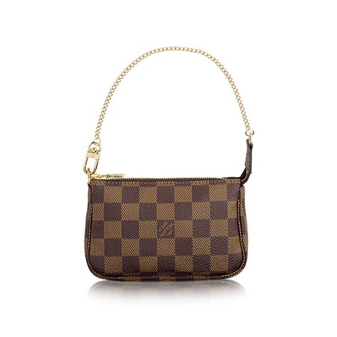 mini pochette accessoires tela damier ebène borse e portadocumenti louis vuitton