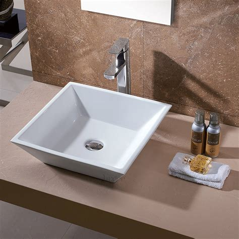 Top Mounted Bathroom Sinks by Bathroom Luxurious Bathroom Design With Vessel Sink And