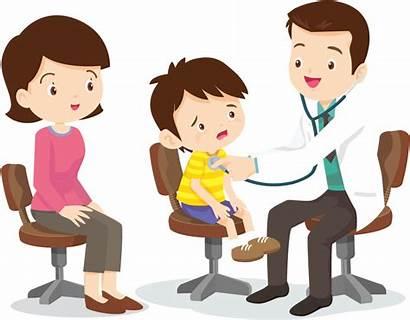 Doctor Clipart Child Shot Pediatrics Mom Transparent