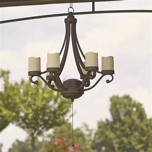 outdoor gazebo chandelier lighting Roselawnlutheran