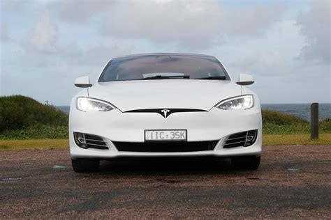 tesla model  pd  review carsguide