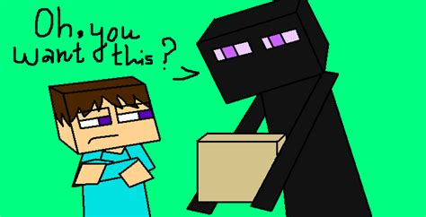 enderman and creeper love