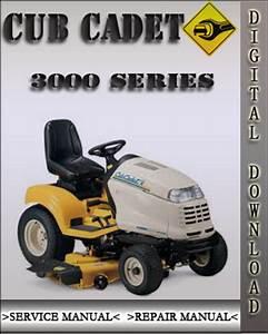 Cub Cadet 3000 Series Factory Service Repair Manual