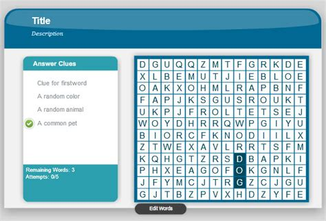 word powerpoint online word search game in powerpoint using adobe presenter 8