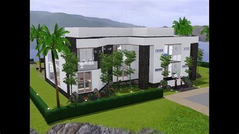 Sims 3  Haus Bauen  Let's Build  Helles, Modernes Haus