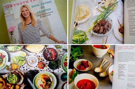 gwyneth paltrow recettes de cuisine godiche mon healthy project livres godiche