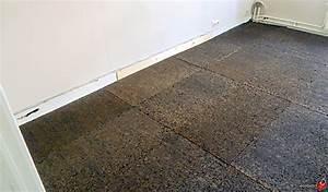 isolation en liege chez van montagu ecobati With isolation sol salle de bain