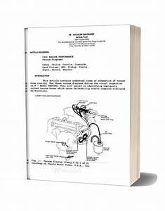 Toyota Vacuum 1991 Diagrams