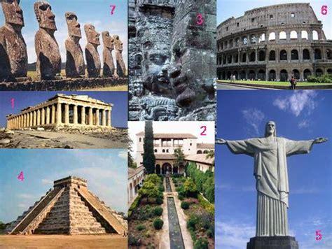 7 merveilles du monde moderne unesco 7 merveilles du monde en concours