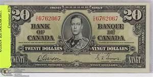 1937 CANADIAN $20 DOLLAR BILL