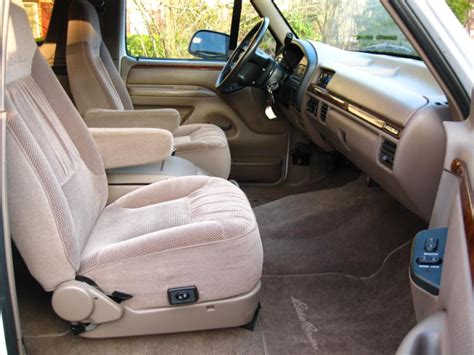 1996 ford bronco interior used 1995 ford bronco performance specs 1995 ford bronco