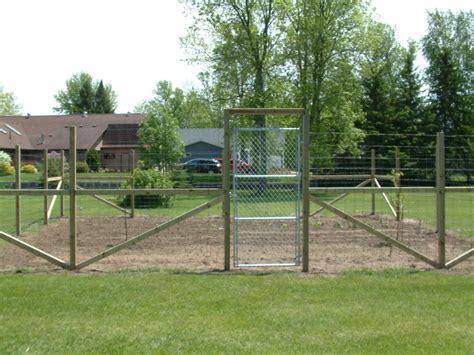 garden deer fence delta fence construction