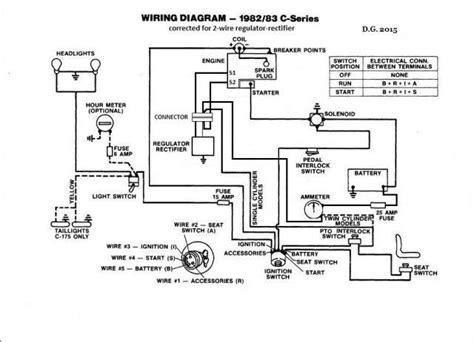 wheel horse  wiring diagram  wiring diagram