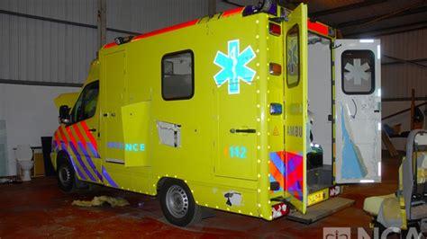 Dutch Gang Used Fake Ambulances To Smuggle £1.6bn Of Drugs