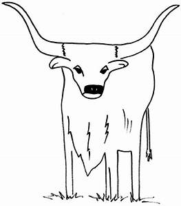 Free Coloring Pages Of Longhorns