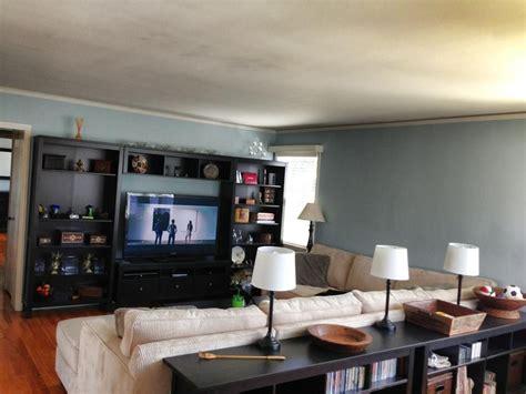 living room entertainment center angle  blackbrown