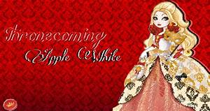 Ever After High Apple White Thronecoming Wallpaper by ...