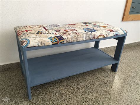Nautical Upholstered Bench Coffee Table • My Sweet Things Table Set Ideas Restaurant Setting Camping Folding And Chairs Boys Chair Ashley Furniture End Tables How To Out A Of Contents Dressing Polyester Linens
