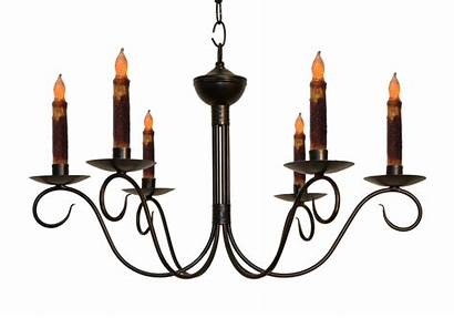 Chandelier Candle Colonial Washington Handcrafted Lighting Katie
