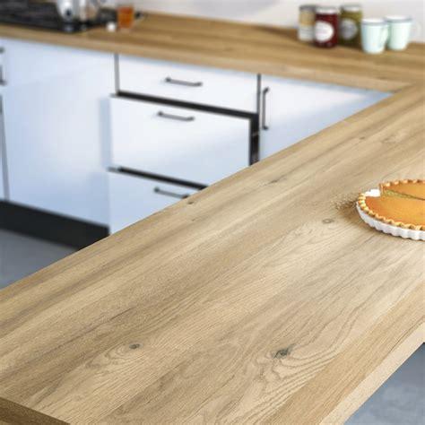 plinthe meuble cuisine ikea plan de travail stratifié effet chêne boréal mat l 300 x p