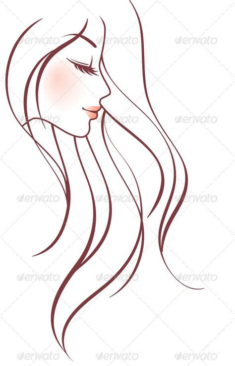 ideas  girl face drawing  pinterest drawing