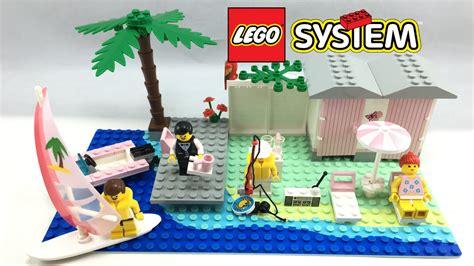 Lego Town Paradisa Cabana Beach Set Review! 1994 Set 6410
