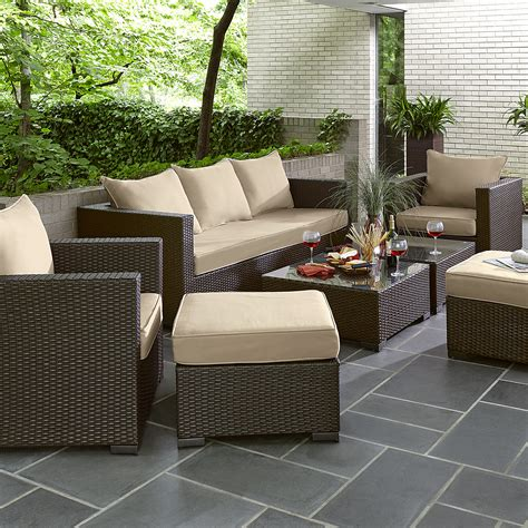 Sears Patio Furniture Monterey by Grand Resort Osborn 7pc Sofa Seating Set Limited