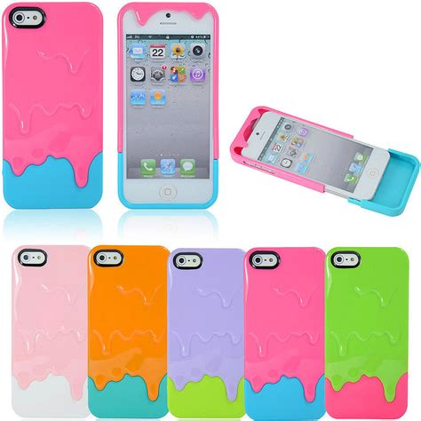 3d iphone 5s cases 3d melting cover for apple iphone