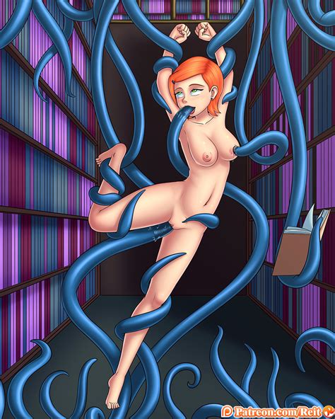 commission tentacle lovin club 4 magic girl s fun punishment by reit hentai foundry