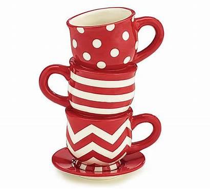 Tea Vase Stacked Burton Teacup Teacups Ceramic