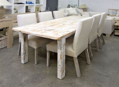 recycled oregon table white wash home pinterest