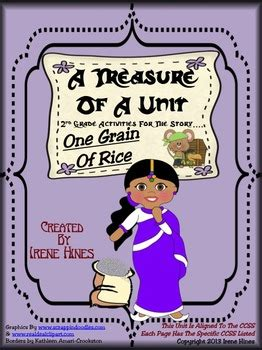 Treasures  A Treasure Of A Unit For 2nd Grade  One Grain Of Rice