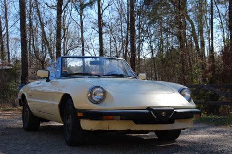 1988 Alfa Romeo Spider Graduate Convertible Collector