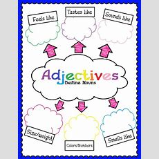 17 Best Images About Adjectives On Pinterest  Fancy Words, Writing Graphic Organizers And An