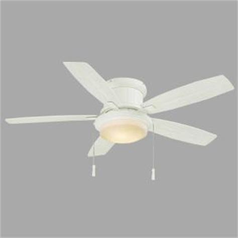Ceiling Fan Balancing Kit Home Depot by Hton Bay Roanoke 48 In Indoor Outdoor White Ceiling