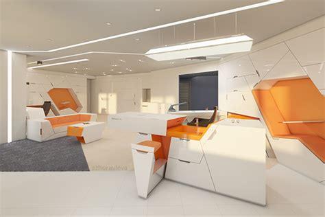living interior office  behance