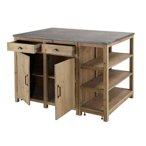 meuble cuisine central meuble pour ilot central cuisine hotte de cuisine design