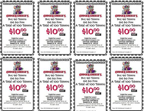 71764 4wd Discount Code by Chuck E Cheese Printable Coupons May 2018 Printable