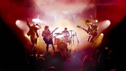 Band Rock Concert Metal Heavy Wallpapers Hard