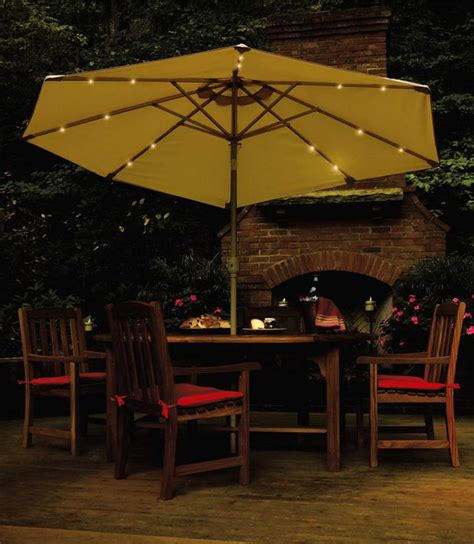 solar powered umbrellas light up nighttime events silive