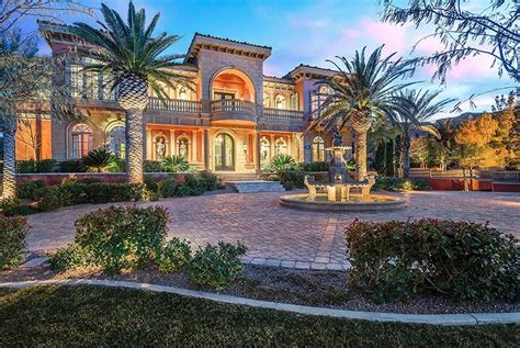 Newly Listed $105 Million Mediterranean Style Mansion In