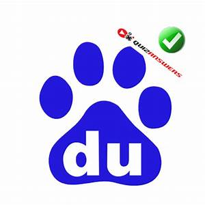 The gallery for --> Dog Paw Du Logo