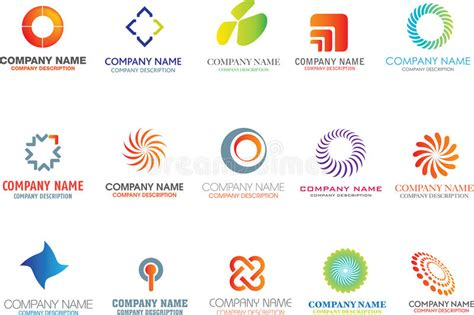 Abstract Shapes Names by Abstract Logo Shapes Stock Photo Image 12857270